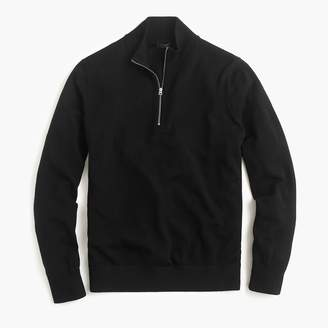 J.Crew Merino wool half-zip sweater