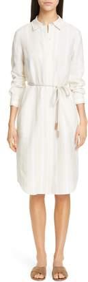 Lafayette 148 New York Peggy Linen Shirtdress