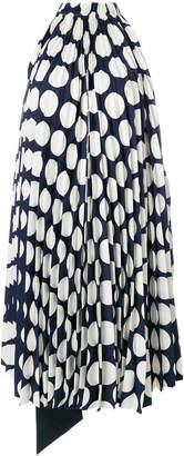 Awake polka-dot reversible dress