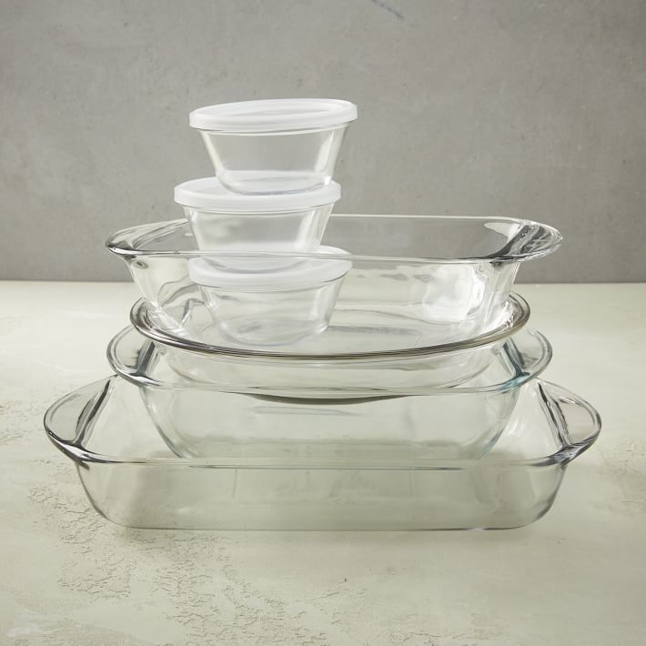Anchor Hocking 10-Piece Glass Bakeware Set