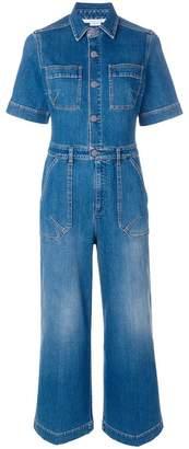 Stella McCartney cropped denim jumpsuit