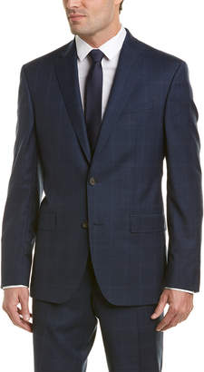 Ted Baker Wool Suit With Flat Front Pant