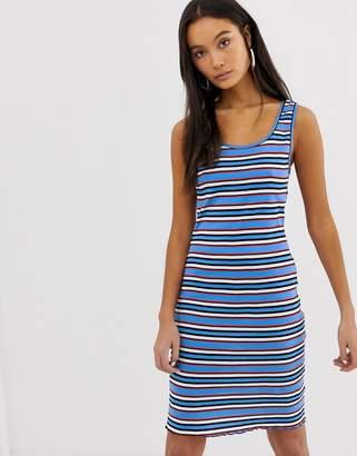 New Look Stripe Bodycon Dress