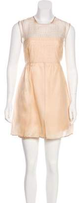Emilio De La Morena Mini Sleeveless Dress