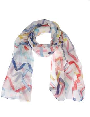 Paul Smith Abstract See-through Scarf