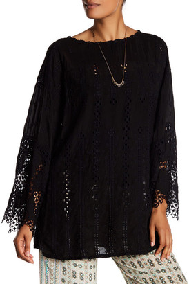 Johnny Was Embroidered Tunic $228 thestylecure.com
