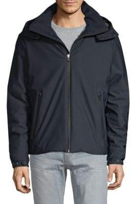 Solid Double Knit Stretch Jacket