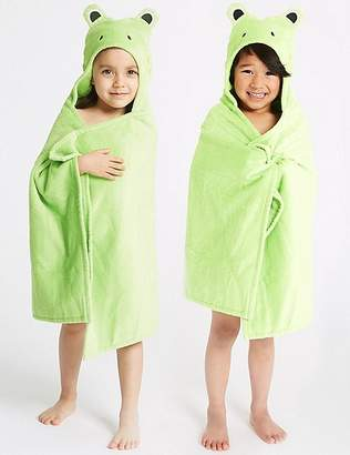 Marks and Spencer Frog Hooded Towel