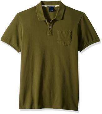 Scotch & Soda Men's Garment Dyed Polo, S
