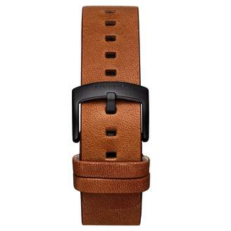 MVMT Mens Revolver Series20mm Cognac Leather