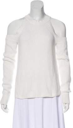 Rag & Bone Knit Cold-Shoulder Sweater