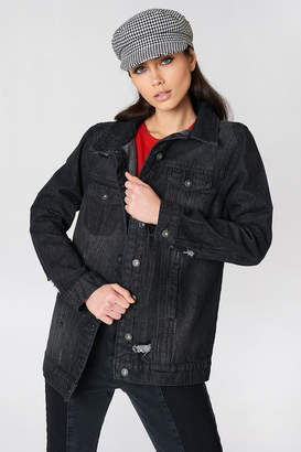 Rut & Circle Rut&Circle Black Long Denim Jkt Black