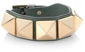 Valentino Studded Leather Bracelet