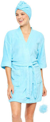 Asstd National Brand Long Sleeve Woven Robe