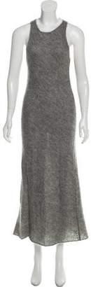 Michael Kors Mohair & Wool-Blend Maxi Dress