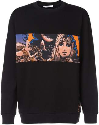 Givenchy graphic print sweatshirt