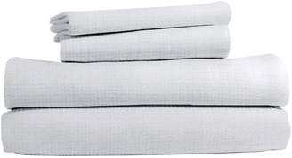 Peri Home Scallop Cotton Sheet Set