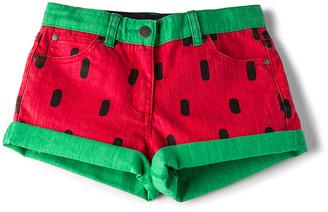 Stella McCartney Kids Hula Girls Denim Shorts $96 thestylecure.com