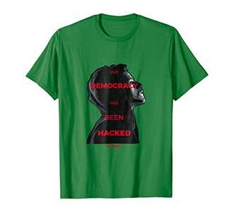 Mr. Robot Our Democracy Has Been Hacked Comfortable T-shirt