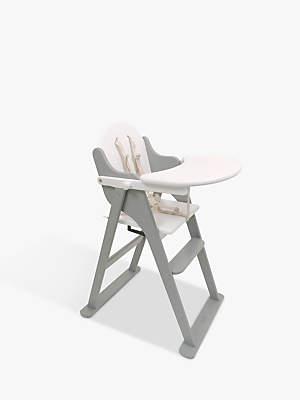 East Coast Nursery East Coast Folding Highchair, White/Grey