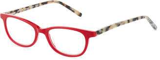 Eyebobs Scary Terri Square Acetate Reading Glasses, +2