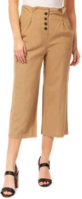 Dex Wide-Leg Pleat Pants