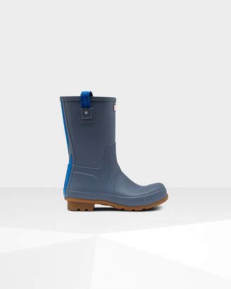Hunter Men's Original Short Seaton Rain Boots