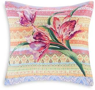 "Echo Sofia Embroidered Decorative Pillow, 18"" x 18"""