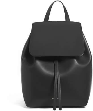 Mansur Gavriel Black Mini Backpack - Ballerina