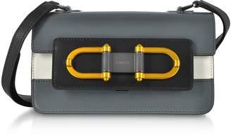 Furla Ardesia Leather Bellaria Mini Crossbody Bag