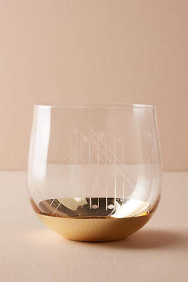 Anthropologie Dasha Stemless Wine Glass