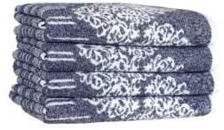 Gioia Ocean Blue Hand Towel/Set of 4