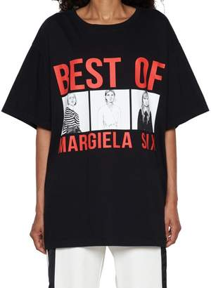MM6 MAISON MARGIELA 'best Of Margiela Six' T-shirt