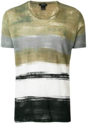 Avant Toi stripe short-sleeve T-shirt