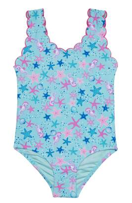 Hula Star Seahorse Bubbles One-Piece Swimsuit