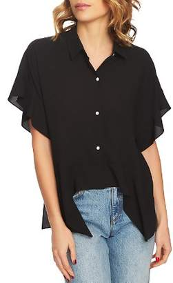 1 STATE 1.STATE Button-Down Flutter Top