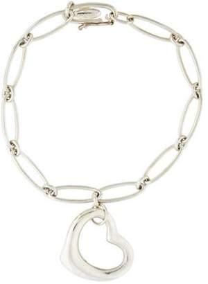 Tiffany & Co. Open Heart Charm Bracelet silver Open Heart Charm Bracelet