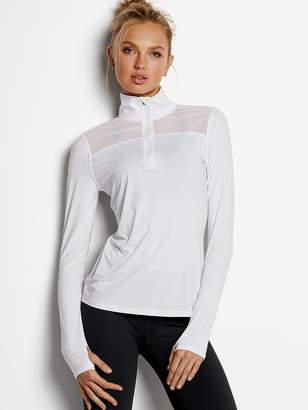 Victoria Sport Mesh-detail Half-zip Jacket