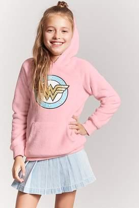 Forever 21 Girls Wonder Woman Graphic Sweatshirt (Kids)