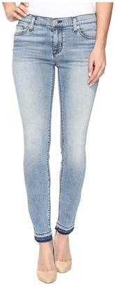 Hudson Krista Ankle Super Skinny with Released Hem in Shotgun $205 thestylecure.com