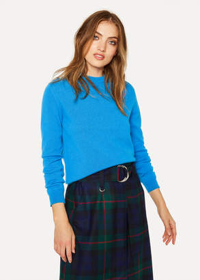Paul Smith Women's Blue Cashmere Sweater