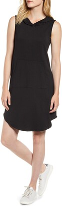 Bobeau Sleeveless French Terry Dress