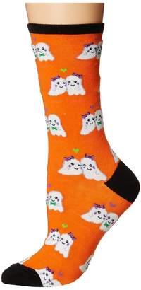 Socksmith Love You Boo Women's Crew Cut Socks Shoes