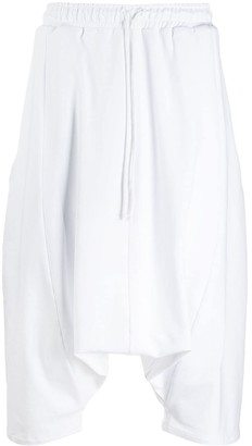 Alchemy dropped crotch shorts