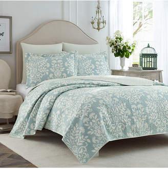Laura Ashley King Rowland Quilt Set Bedding