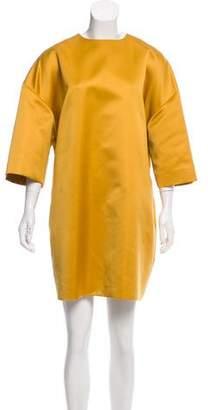 Rochas Satin Shift Dress