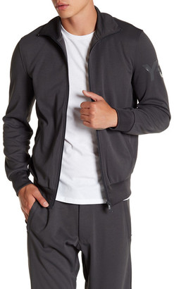 Y-3 Long Sleeve Track Jacket $245 thestylecure.com