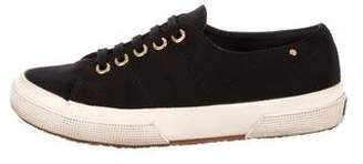 The Row Superga x Low-Top Round-Toe Sneakers