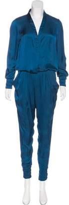 Alexis Long Sleeve Skinny Jumpsuit