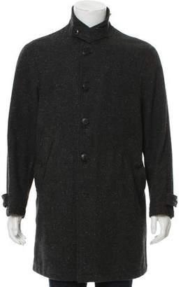 Adam Kimmel Wool Button-Up Coat
